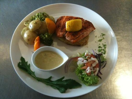 La Rustica : Fresh Salmon supplied by Galway Bay Seafoods