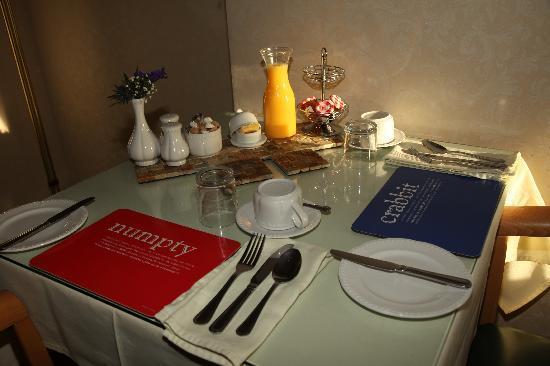 Gowanlea Guest House: Breakfast at the Gowanlea