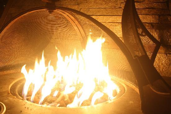 Holiday Inn Express Mill Valley San Francisco Area: the fire place..
