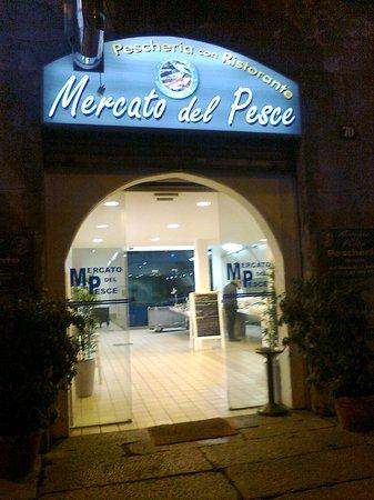 Mercato Del Pesce : ingresso