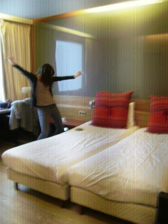 De Keyser Hotel: Blij met hotelkamer