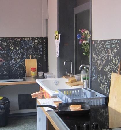 Lullaby Rambla Catalunya: kitchen