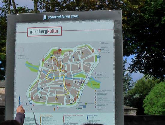 Altstadt: 案内図
