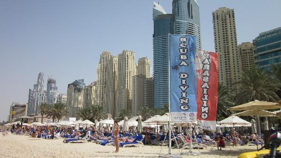 Marina View Hotel Apartments: Jumeriah Beach - walking distance