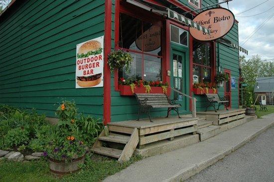 Milford Bistro: Unique setting, Unique Restaurant