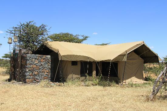 Naboisho Camp, Asilia Africa: family tent