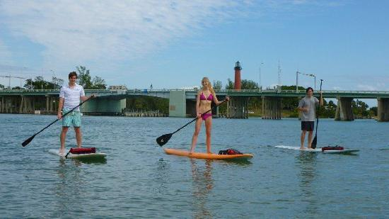 Jupiter Outdoor Center: SUP Jupiter Inlet