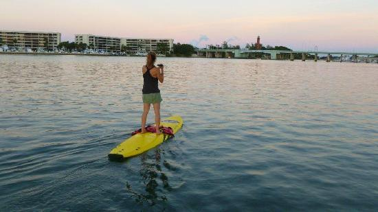 Jupiter Outdoor Center: Alley SUP Jupiter Inlet