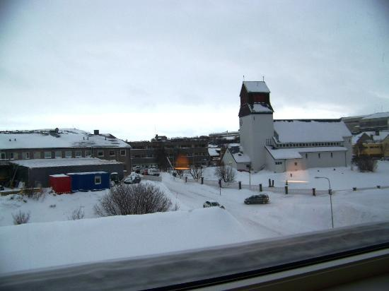 Thon Hotel Kirkenes: View from Bedroom
