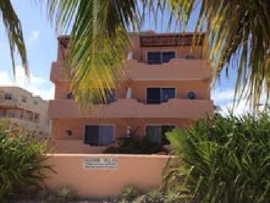Seaside Villas Condos : Seaside Villas from the Ocean