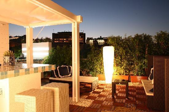 Hotel Lisboa Plaza : Terrace