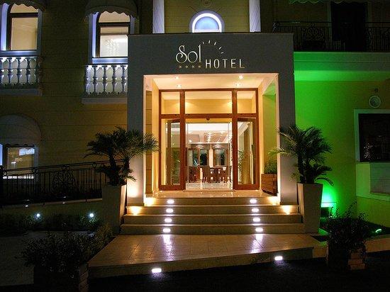 Entrance of Hotel Sol**** Parga