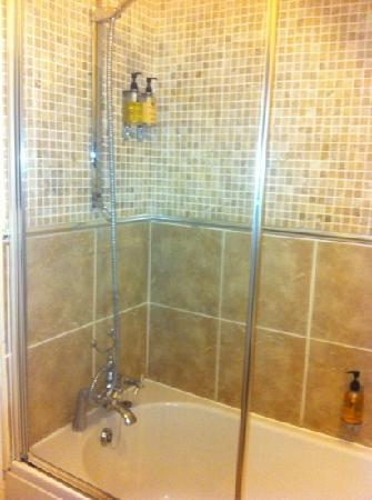 The Tower Hotel: shower
