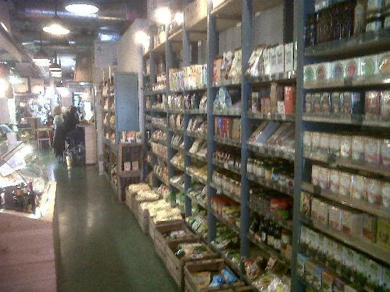 Woki Playa: También podemos comprar productos ecológicos.