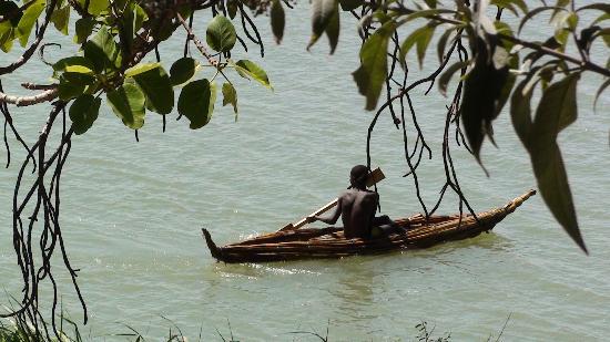 Lake Tana: imbarcazione tipica del lago Tana