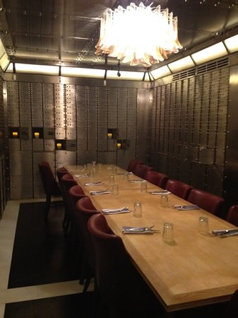 Vault private dining. - Picture of Jamie\'s Italian, Manchester ...