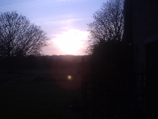 Stanton Manor Hotel: sunset  taken from the room