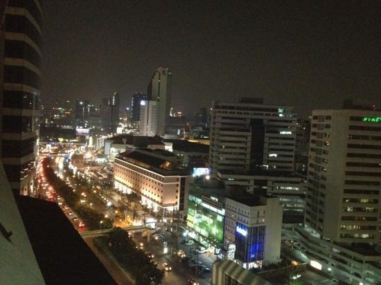Chada Hostel: vue du toit du Cha Da de Bangkok