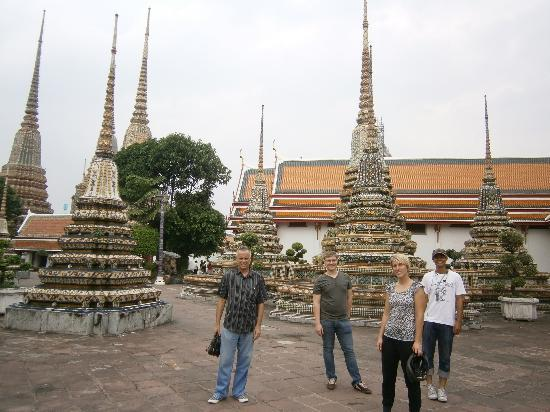 Segway Tour Thailand: and also to Wat Po