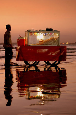 Hussain's: We take our trolley onto Brighouse Beach every Summer