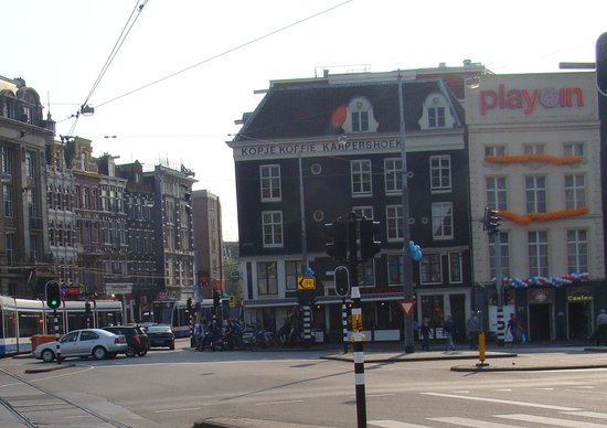 ‪‪Ibis Styles Amsterdam Central Station‬: Vista del Hotel desde la Central Station‬