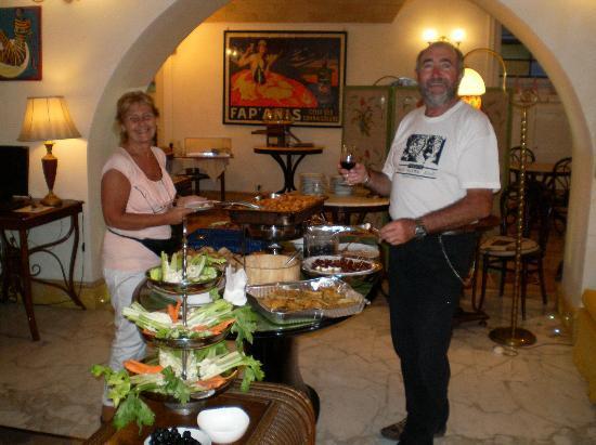 Hotel Emona Aquaeductus: Salon comedor/desayunador