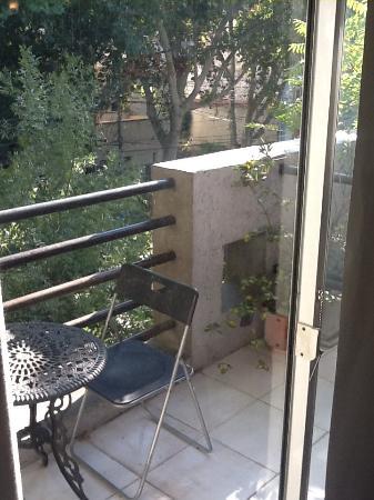 Modigliani Art & Design Suites Mendoza: Modigliani Suite 5 Balcony