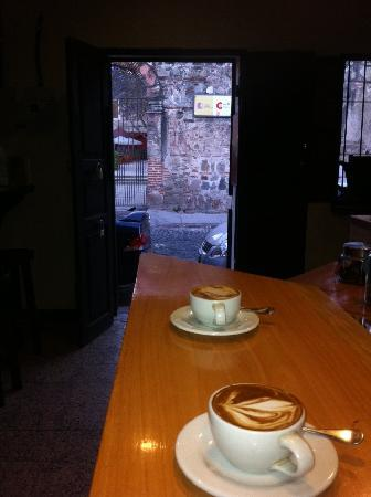 The Refuge Coffee Bar: View to the street
