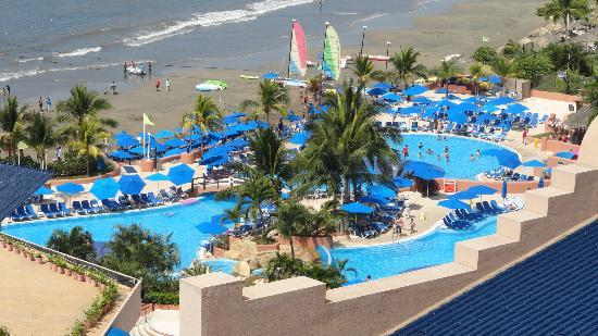 Azul Ixtapa Beach Resort Convention Center Vista General Del Hotel