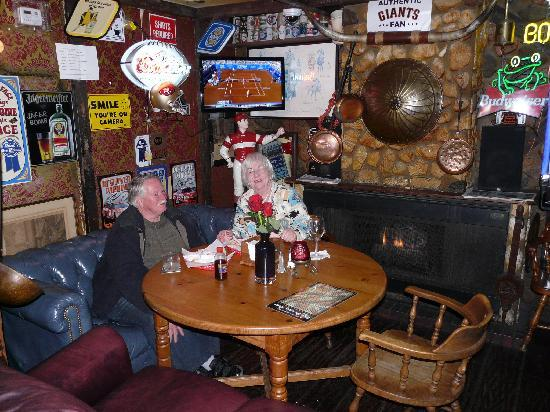 Prince of Wales Pub: The Fireplace & The Swingin Door - Picture of Prince of Wales Pub San Mateo ... Pezcame.Com
