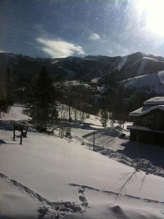The Ranch at Steamboat: View from upstairs window.