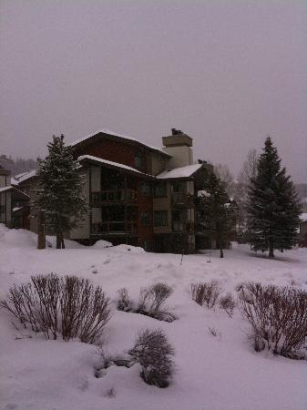 The Ranch at Steamboat: View from the street.