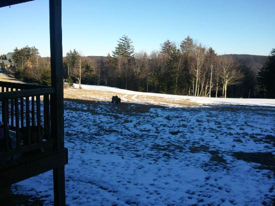 Powderridge #30, View from deck, Camp 4 Trail