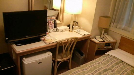 Route-Inn Grantia Fukuyama Spa Resort: 部屋の様子