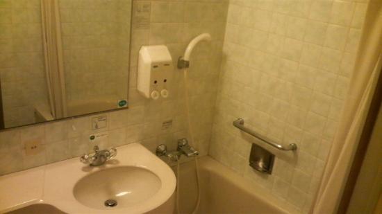 Route-Inn Grantia Fukuyama Spa Resort: 部屋のバス・洗面台