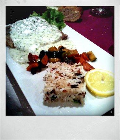 Restaurant Au Faisan Dore: Au faisan Doré - Filet de sandre