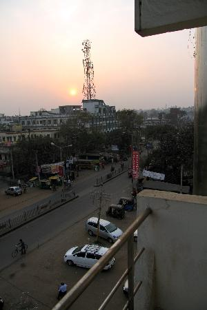 Asansol, India: View from our rooms balcony