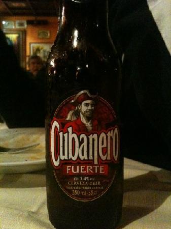 Tocororo: birra!