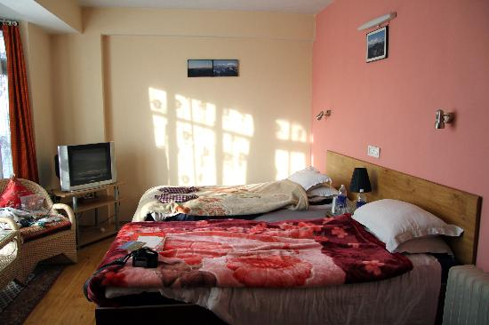 Snow Lion HomeStay: Our room