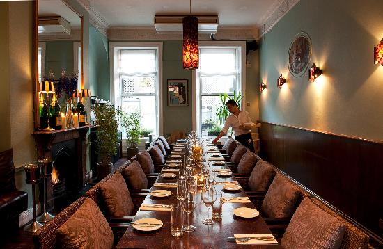 Ely Wine Bar Winebar Semi Private Dining Area
