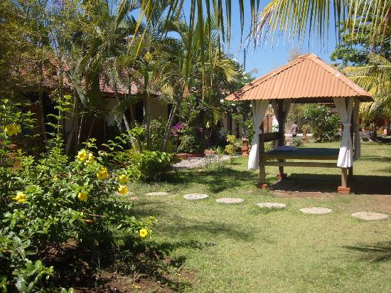 Sri Homestay: Beautiful gardens