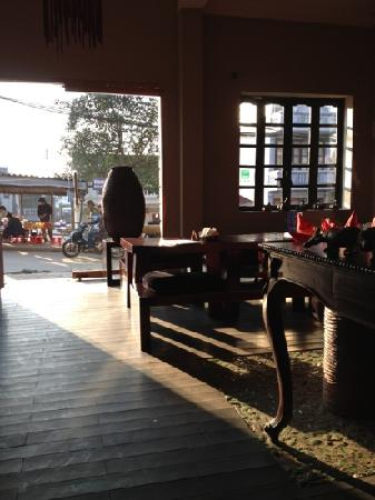 Sapa Rooms Boutique Hotel Restaurant: great view and good for people watching