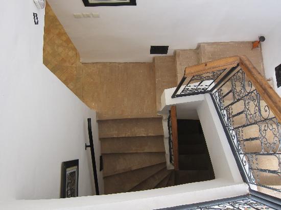 Riad Linda: The stairs