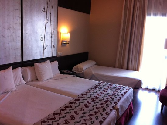 Hotel Paseo del Arte: The beds.