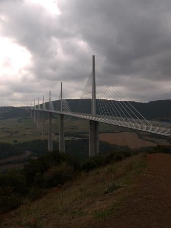 Millau, France: From the viewing area