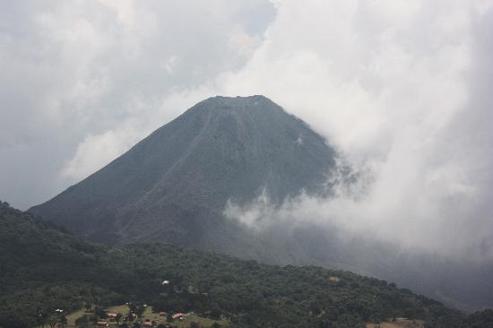 Royal Decameron Salinitas: On top of Santa Ana Volcano looking at the Izalco