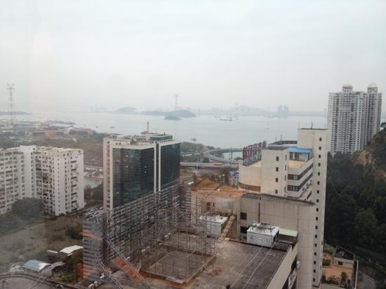 Pan Pacific Xiamen: view from 20th floor room
