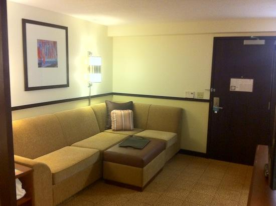 Hyatt Place Madison: Living Room