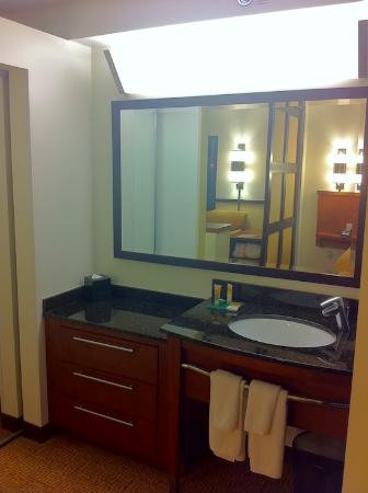 Hyatt Place Madison: Bathroom
