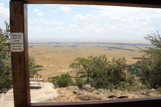 Mara West Camp: View from cabin #8